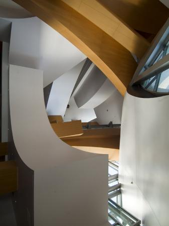 Interior, Walt Disney Concert Hall, Part of Los Angeles Music Center, Downtown