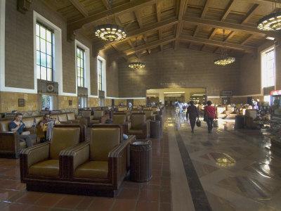 Union Station, Railroad Terminus, Downtown, Los Angeles, California, USA