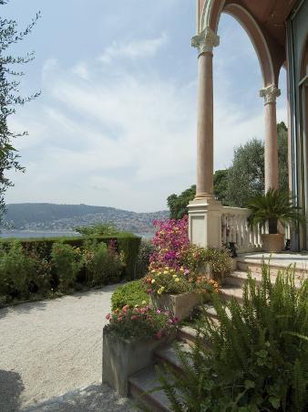 Villa Ephrussi, Historical Rothschild Villa, St. Jean Cap Ferrat, Alpes-Maritimes, Provence, France