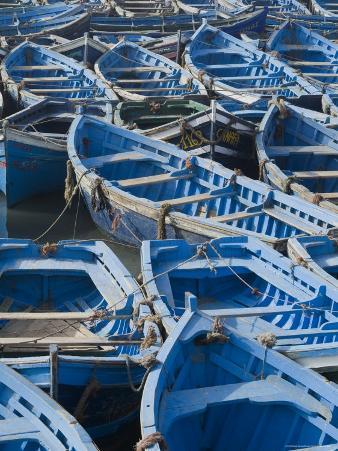 Essaouira Harbour, Morocco, North Africa, Africa