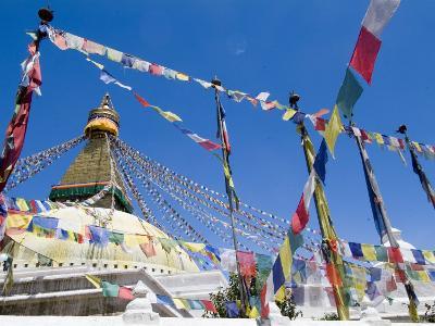 Boudhanath (Bodhnath) Stupa, Unesco World Heritage Site, Kathmandu, Nepal