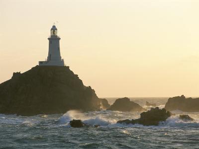 Corbiere Lighthouse, St. Brelard-Corbiere Point, Jersey, Channel Islands, United Kingdom