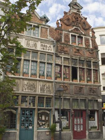 Traditional Gabled Architecture, Ghent, Belgium