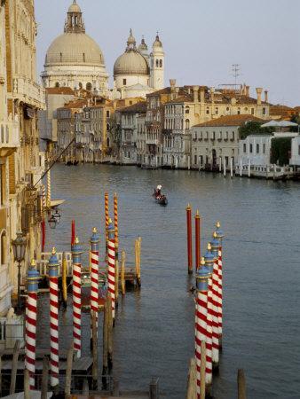 Grand Canal and Santa Maria Salute, Venice, Unesco World Heritage Site, Veneto, Italy