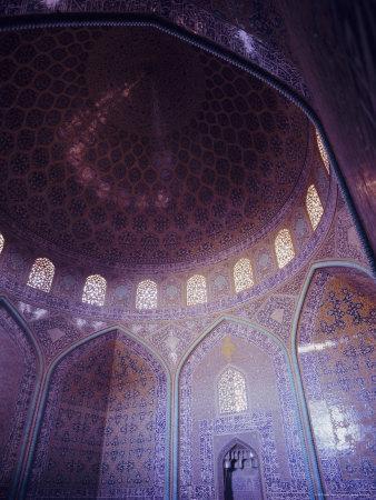 Sheikh Lutfullah (Sheikh Lotfollah) Mosque, Isfahan (Esfahan), Iran, Middle East