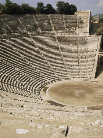 The Theatre, Epidauros, Unesco World Heritage Site, Greece