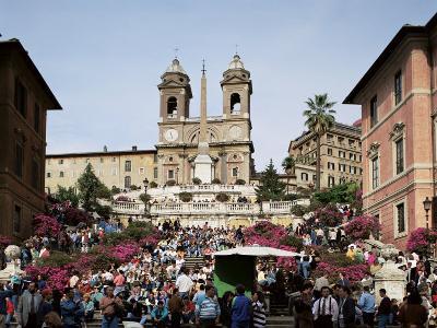 Spanish Steps, Rome, Lazio, Italy