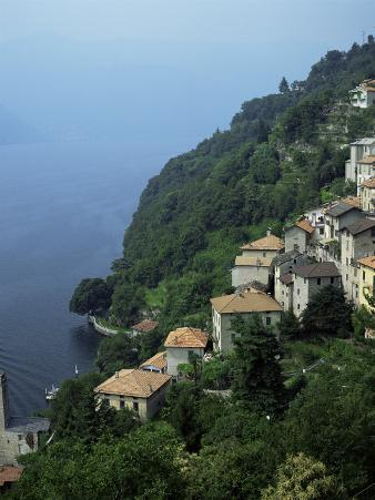 Village of Domaso, Lake Como, Lombardia, Italian Lakes, Italy