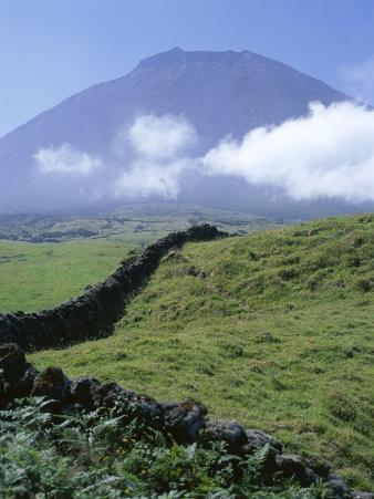 Landscape, Pico, Azores Islands, Portugal, Atlantic