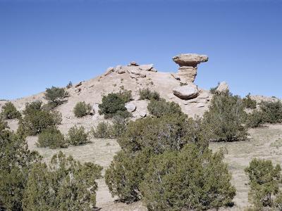 Camel Rock, Near Santa Fe, New Mexico, USA