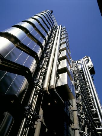 Lloyd's of London, Architect Richard Rogers, City of London, London, England, United Kingdom