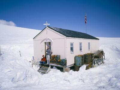 British Antarctic Survey Summer Only Base Damoy, on Wiencke Island, Antarctic Pensinula, Antarctica