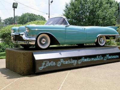 Classic Car, Graceland, Mamphis, Tennessee, USA