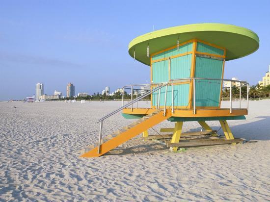Art Deco Style Liuard Hut South Beach Miami Florida