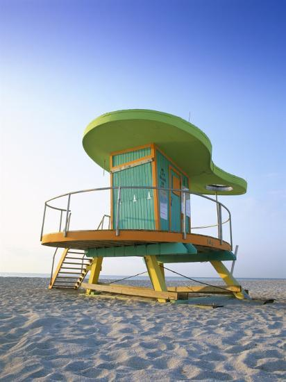 Liuard Hut In Art Deco Style South Beach Miami Florida