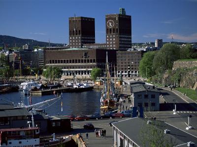 City Hall, Central Oslo, Oslo, Norway, Scandinavia