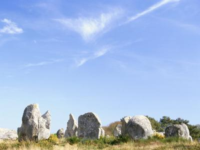 Standing Stones, Carnac, Morbihan, Brittany, France