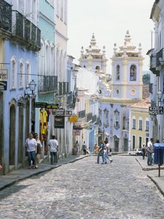Pelhourinho, Salvador De Bahia, Unesco World Heritage Site, Bahia, Brazil, South America
