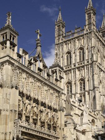 Gloucester Cathedral, Gloucester, Gloucestershire, England, United Kingdom
