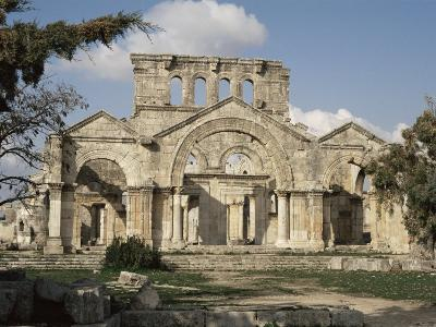Basilica of St. Simeon, Qalaat Samaan, Syria, Middle East