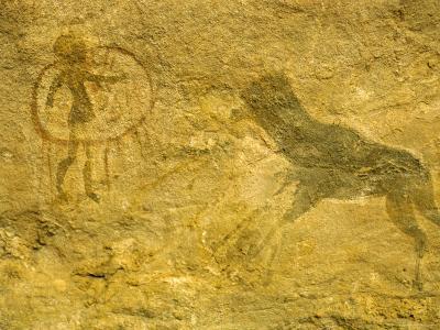 Rock Paintings, Tassili, Algeria, North Africa, Africa