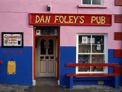 Pub Near Dingle, County Kerry, Munster, Eire (Republic of Ireland)