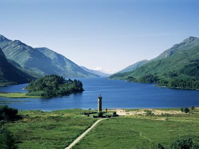 Glenfinnan and Loch Shiel, Highland Region, Scotland, United Kingdom