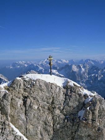Zugspitze Peak 2963M, Highest Mountain in Germany, Bavaria, Germany
