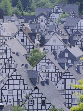 Old Town, Freudenberg, Siegerland, North Rhine-Westphalia (Nordrhein-Westfalen), Germany