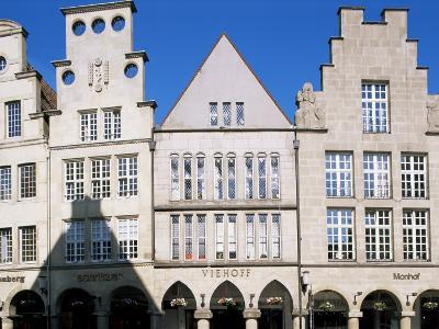 Principal Square, Munster, North Rhine-Westphalia (Nordrhein-Westfalen), Germany