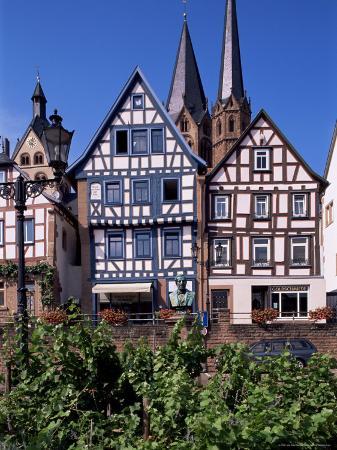 Framework at Market Square, Gelnhausen, Hesse, Germany