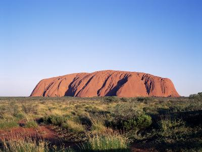 Uluru, Uluru-Kata Tjuta National Park, Unesco World Heritage Site, Northern Territory, Australia