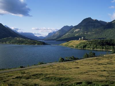 Waterton Lakes and Hotel Prince of Wales, Rocky Mountains, Alberta, Canada
