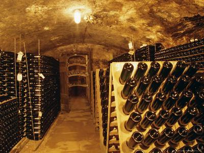 Cellar, Wine Production, Saarburg, Saar-Valley, Germany