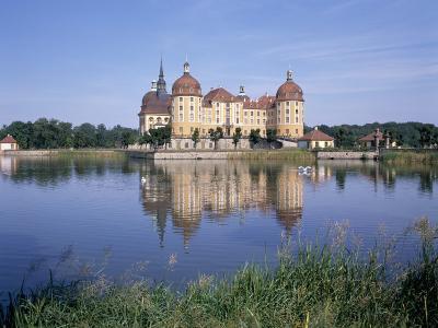 Moritzburg Castle, Near Dresden, Sachsen, Germany