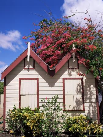 Chattel House, Barbados, West Indies, Caribbean, Central America