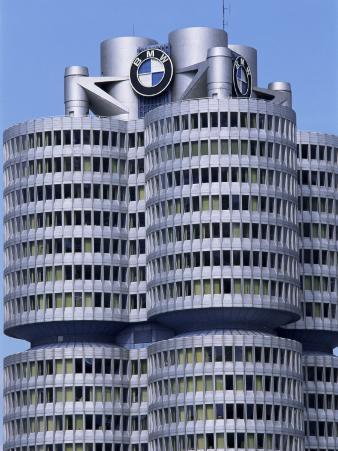 Headquarters of Bmw, Munich, Bavaria, Germany