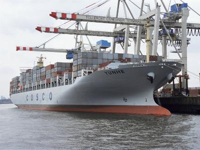 Shipping, Port, Hamburg, Germany
