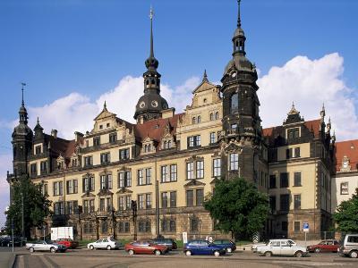 Castle, Dresden, Saxony, Germany