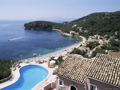 Kalami Bay, Corfu, Ionian Islands, Greece
