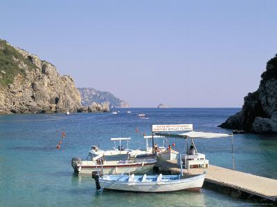 Paleokastritsa, Corfu, Greek Islands, Greece, Mediterranean