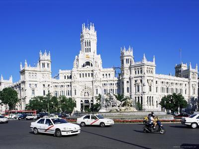 Palacio De Comunicaciones, Plaza De La Cibeles, Madrid, Spain