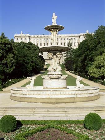 Palacio Real, Madrid, Spain