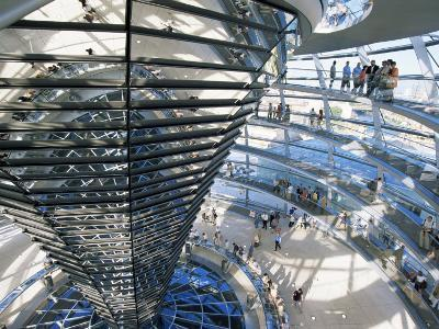 Inside the Reichstag, Berlin, Germany