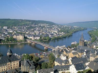 Bernkastel-Kues, Mosel Valley, Rheinland-Pfalz (Rhineland-Palatinate), Germany