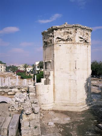 Tower of the Winds, Roman Agora, Athens, Greece