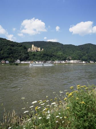 Stolzenfels Castle, Near Koblenz, Rhine Valley, Germany