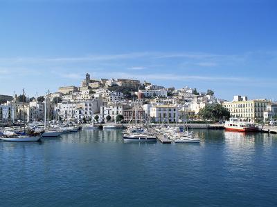 Dalt Vila, Eivissa, Ibiza, Balearic Islands, Spain, Mediterranean