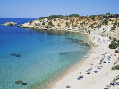 Beach, Cala d'Hort, Ibiza, Balearic Islands, Spain, Mediterranean