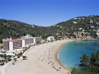 Beach, Cala De Sant Vicent, Ibiza, Balearic Islands, Spain, Mediterranean